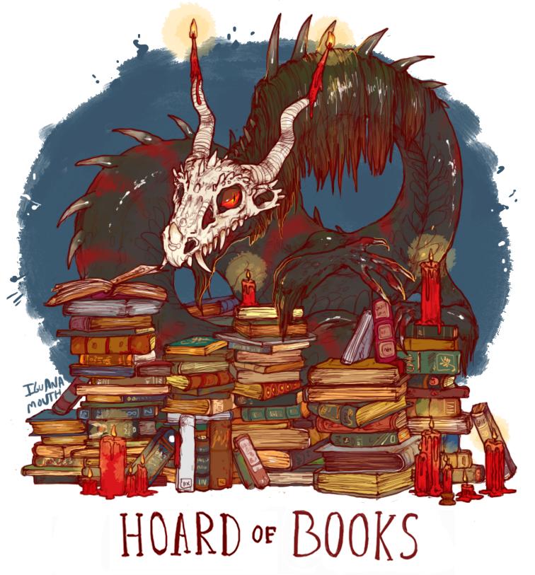 Hoard of books