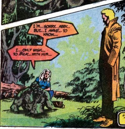 Constantine in Swamp Thing