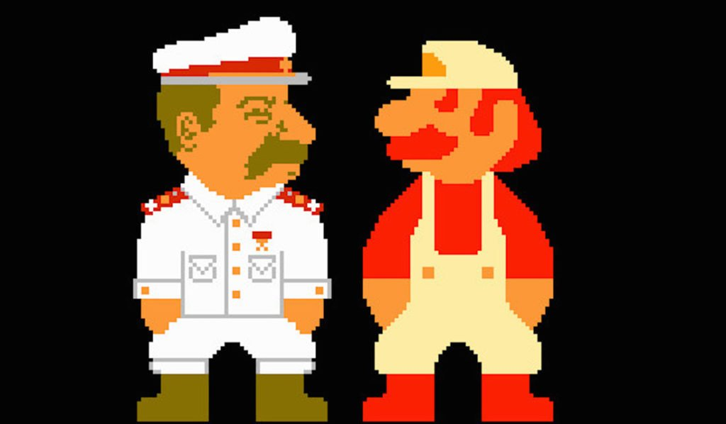 super mario and Stalin