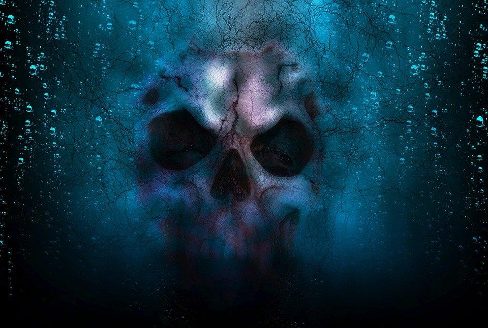 Skull in the sky