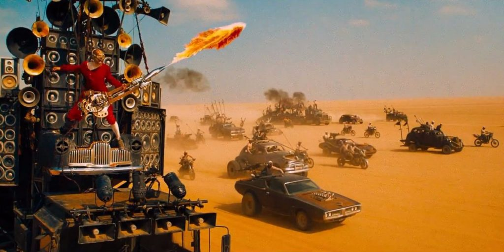 Mad Max Fury Road guitarist