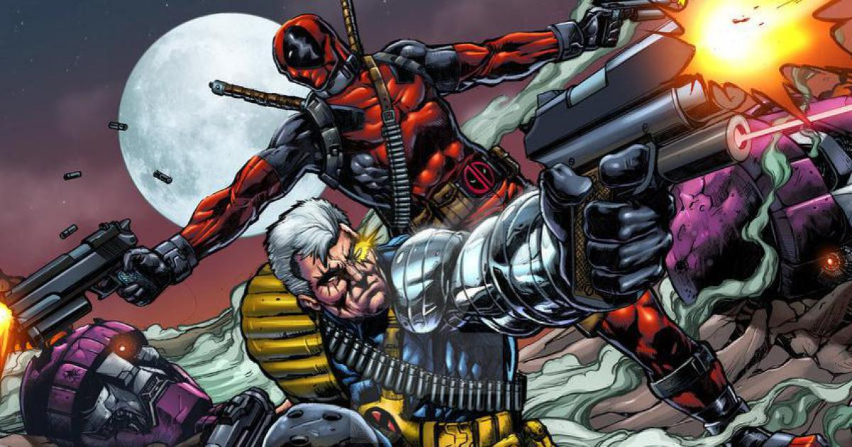 Cable and Deadpool comic