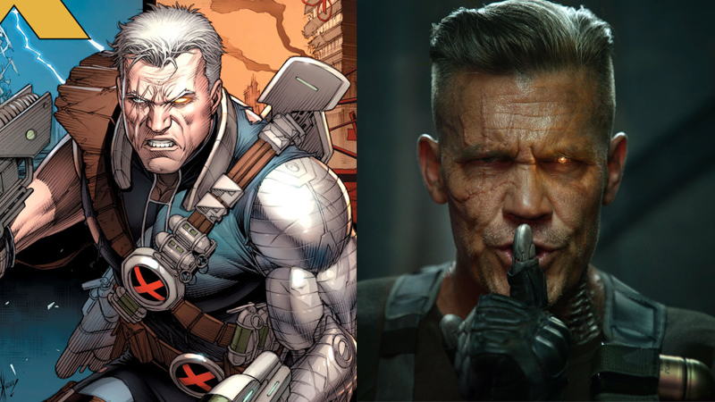 Cable from marvel comics and deadpool 2